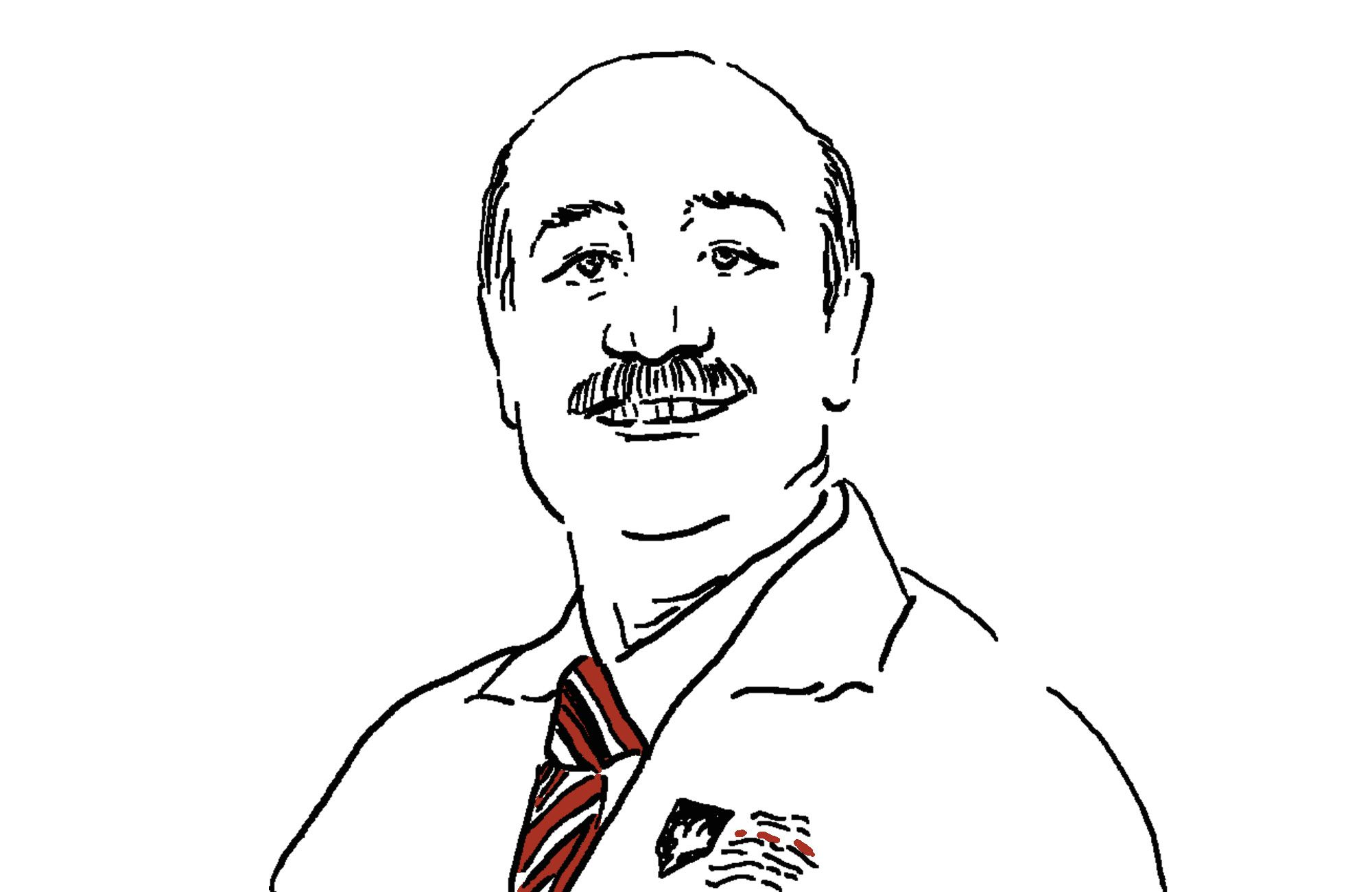 Illustration of doctor Basim from Canadian Specialists Hospital in Dubai